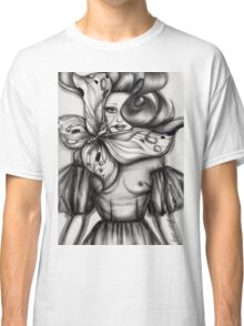 Girl with Butterfly Classic T-Shirt