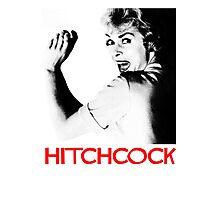 ALFRED HITCHCOCK - JANET LEIGH Photographic Print