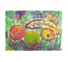 Various Fruits Art Print