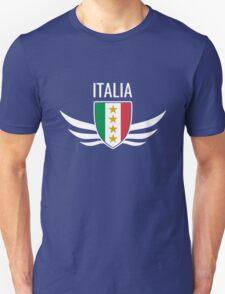 Italia Wing Crest Unisex T-Shirt
