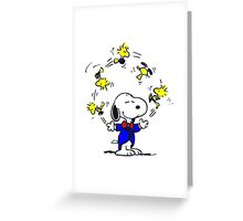 Snoopy Happy Greeting Card