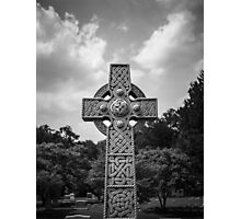 Celtic Cross Headstone Photographic Print