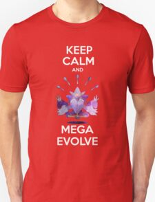 Keep Calm and MegaEvolve! MEGA ALAKAZAM T-Shirt