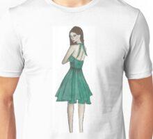 Green Dress Figure Unisex T-Shirt