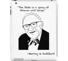 Rothbard on the State iPad Case/Skin