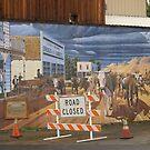Road Closed by Bruce  Dickson
