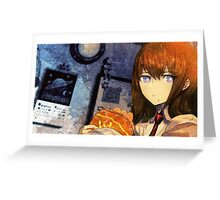 Makise Kurisu Steins;Gate Greeting Card