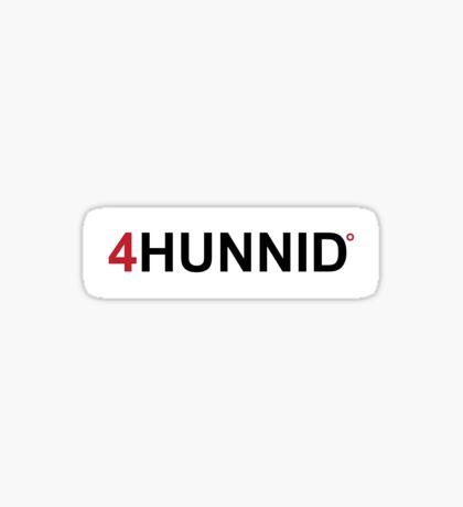 YG 4Hunnid Sticker