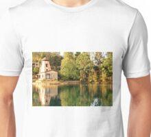 windmill on the lake Unisex T-Shirt
