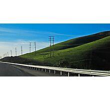 ten pole hill Photographic Print