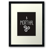 Skyrim 'Morthal' Framed Print