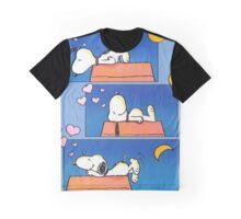 Sleep Night Peanuts Graphic T-Shirt