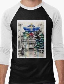 Spirited Away Men's Baseball ¾ T-Shirt