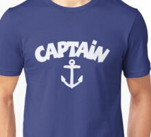 CAPTAiN Anchor White Unisex T-Shirt