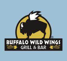 buffalo wild wings One Piece - Short Sleeve