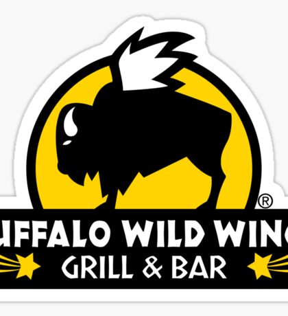 buffalo wild wings Sticker
