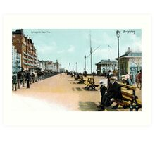 1900 Brighton East Sussex Entrance to West Pier Art Print