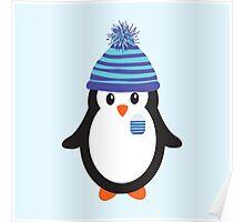Pocket Snowflake the Penguin Poster