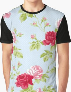 Colorful Flower Floral Design Pattern Graphic T-Shirt