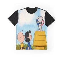 Charlie Brown and Snoopy Tee Graphic Graphic T-Shirt
