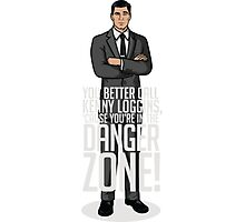 Archer - Cause You're in the Danger Zone! Photographic Print