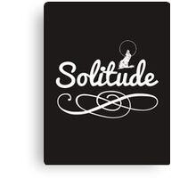 Skyrim 'Solitude' Canvas Print