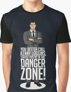 Archer - Cause You're in the Danger Zone! Graphic T-Shirt