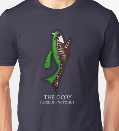 Goby Fish Anatomy Unisex T-Shirt