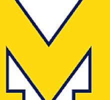 Michigan Women's Rowing Sticker
