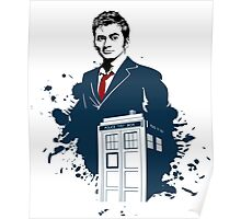 Dr. Who - Doctor Who - 10th Doctor w/ Tardis Poster