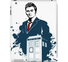 Dr. Who - Doctor Who - 10th Doctor w/ Tardis iPad Case/Skin