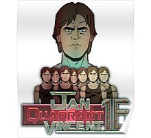 Jan Quadrant Vincent 16 Poster