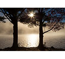 As The Sun Rises, So Does The Fog Photographic Print
