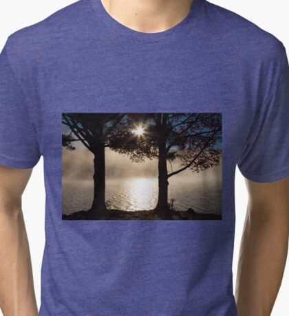 As The Sun Rises, So Does The Fog Tri-blend T-Shirt
