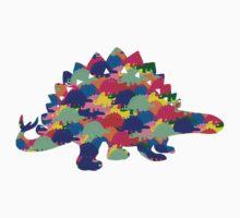 Stegosaurus Baby Tee