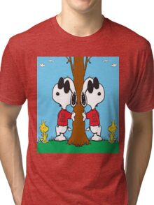 Snoopy Joe Cool Tri-blend T-Shirt