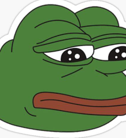 Funny Meme - Pepe Frog Sticker
