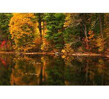 Autumns Calm Photographic Print