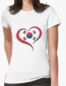 Heart Korea Womens Fitted T-Shirt