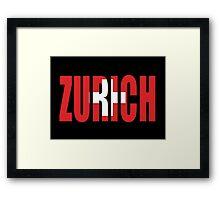 Zurich. Framed Print