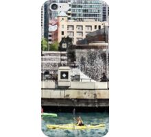 Chicago IL - Kayaking on the Chicago River iPhone Case/Skin