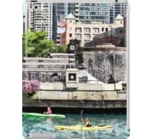 Chicago IL - Kayaking on the Chicago River iPad Case/Skin