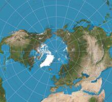 Flat earth reality nasa lies Sticker
