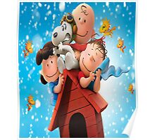 Meet Snoopy and Charlie Brown Poster