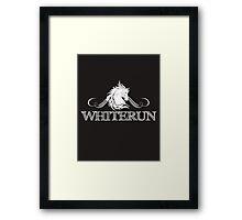 Skyrim 'Whiterun' Framed Print