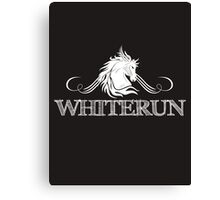 Skyrim 'Whiterun' Canvas Print