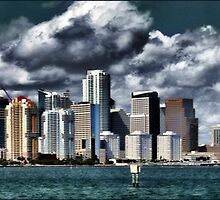 Miami In Winter by Ted Byrne