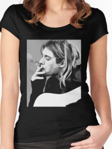 cobain Women's Fitted Scoop T-Shirt