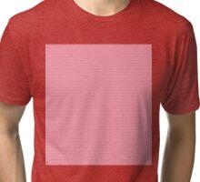 Pink Plumeria Paisley Tri-blend T-Shirt