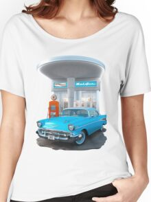 1957 Chevrolet Bel Air Day Women's Relaxed Fit T-Shirt